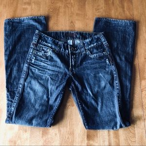 """Silver Jeans """"Twisted"""" Boot Cut 27x33"""